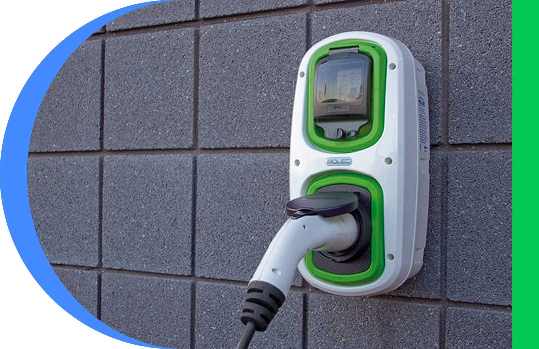Charge point for Electric Car Charging at Home