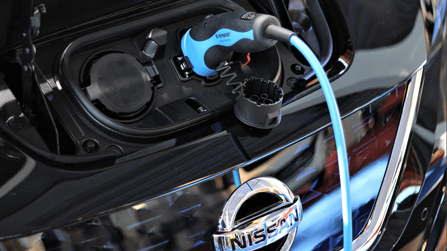 Nissan charging