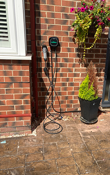 EV Charger installed st domestic property