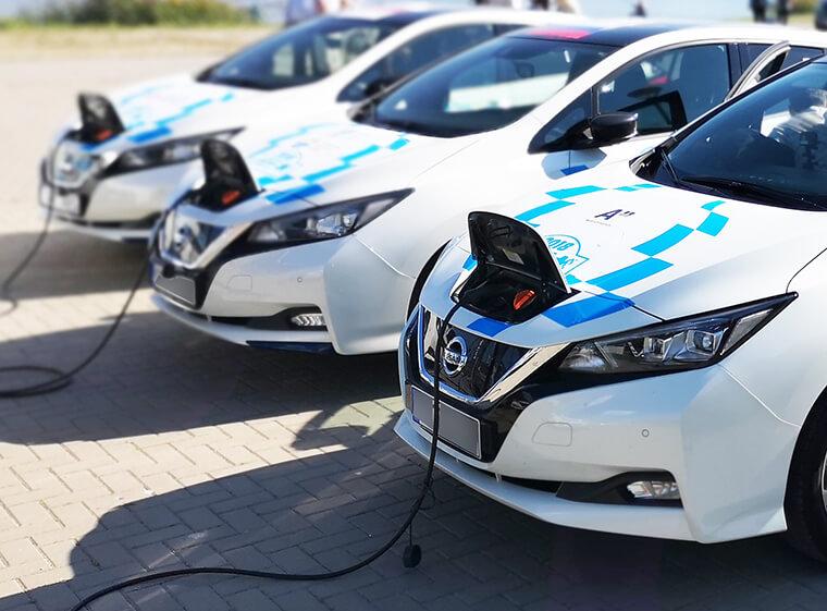 Workplace fleet charging